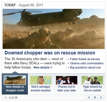 Yahoo News Box