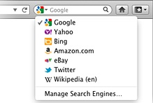 Mozilla Firefox With Twitter Search