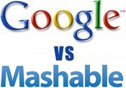 Google Vs Mashable