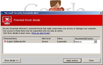 Microsoft Flag Google As Malware