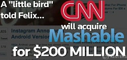 CNN Will Acquire Mashable