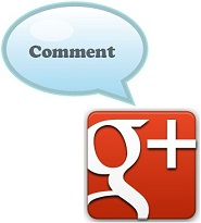 Google Plus Comment