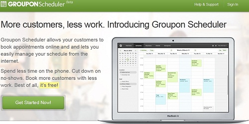 Groupon Schduler Screenshot