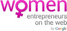 Women Entrepreneurs on the Web Logo