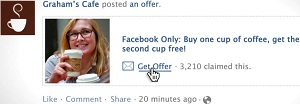 Facebook Offer Example