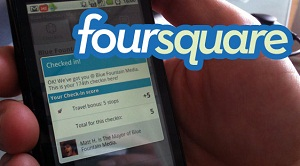 Foursquare Check-in Mobile Phone