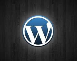 WordPress Blogging Platform Logo