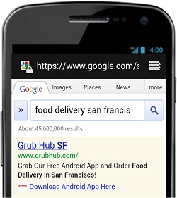 AdWords Mobile App Extension