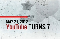 YouTube Turns 7