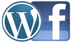 Facebook WordPress Logos