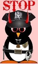 Penguin Evil Cop