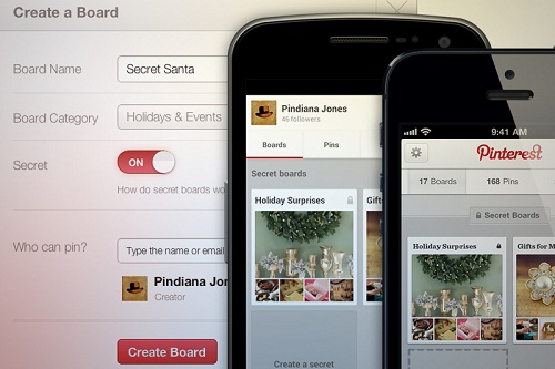 "Pinterest Goes All Intimite with ""Secret Boards"""