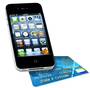 mobile payment on iPhone