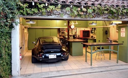 Making A Den Out Of Garage