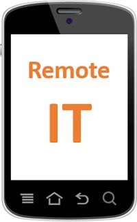 Remote Support App on Smartphone