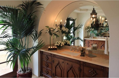 bathroom- Spanish Colonial