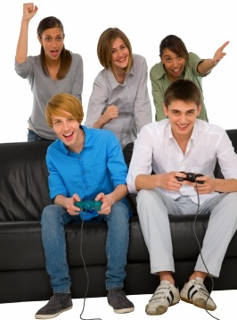 Enjoying Video Gaming