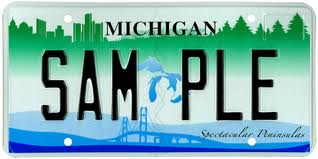 michigan licenseplate