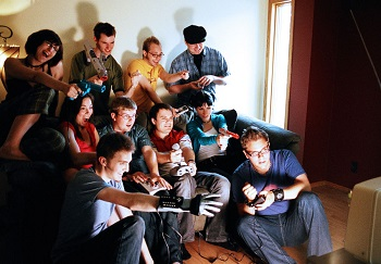 People Play Video Games