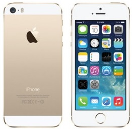 white iphone 5s