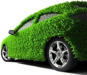 Totally Green Car