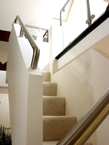 Stairs Up with Handrail