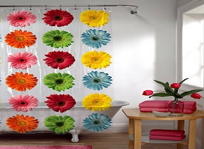 trendy floral curtains