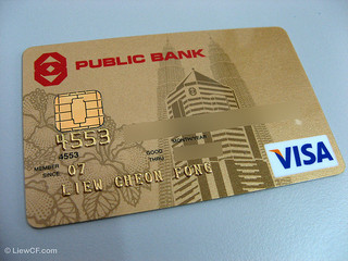 Visa's Credit Card- Public Bank