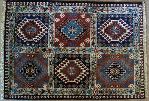 how to clean a persian rug at home