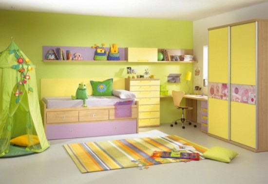 Yellow Children Room