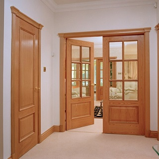 Interior Door Brown