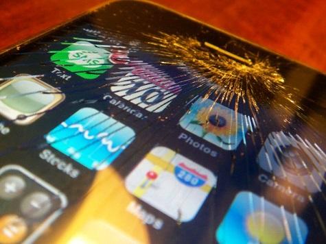 iphone screen broken
