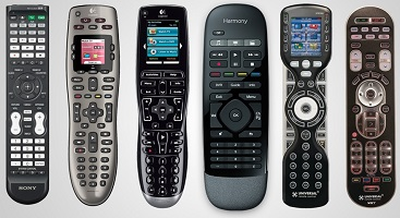 Universally Programmed Remote Controls