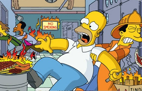 Homer Simpson - workplace safety hazards