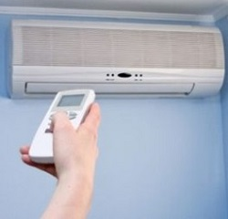 New Modern Air Conditioner