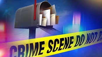 mail fraud - crime scene