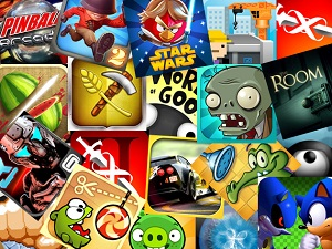 many mobile games