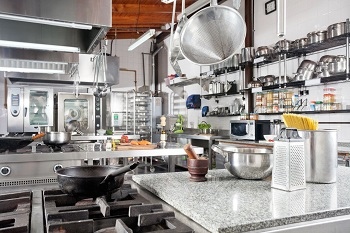 Clean Commercial Kitchen