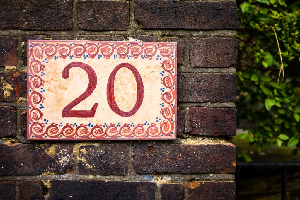 How to Create and Display Your DIY House Numbers
