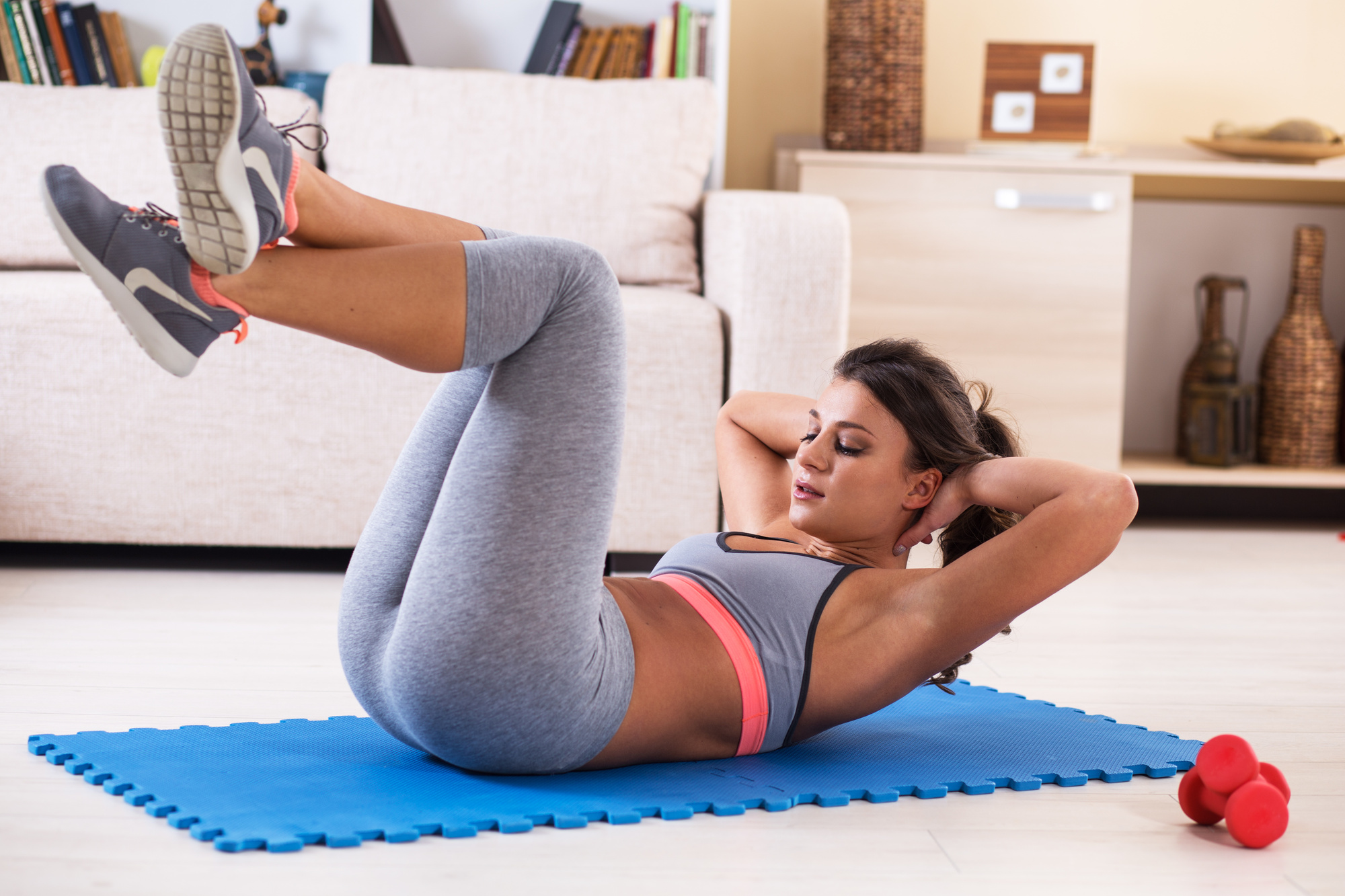 tips for working out from home