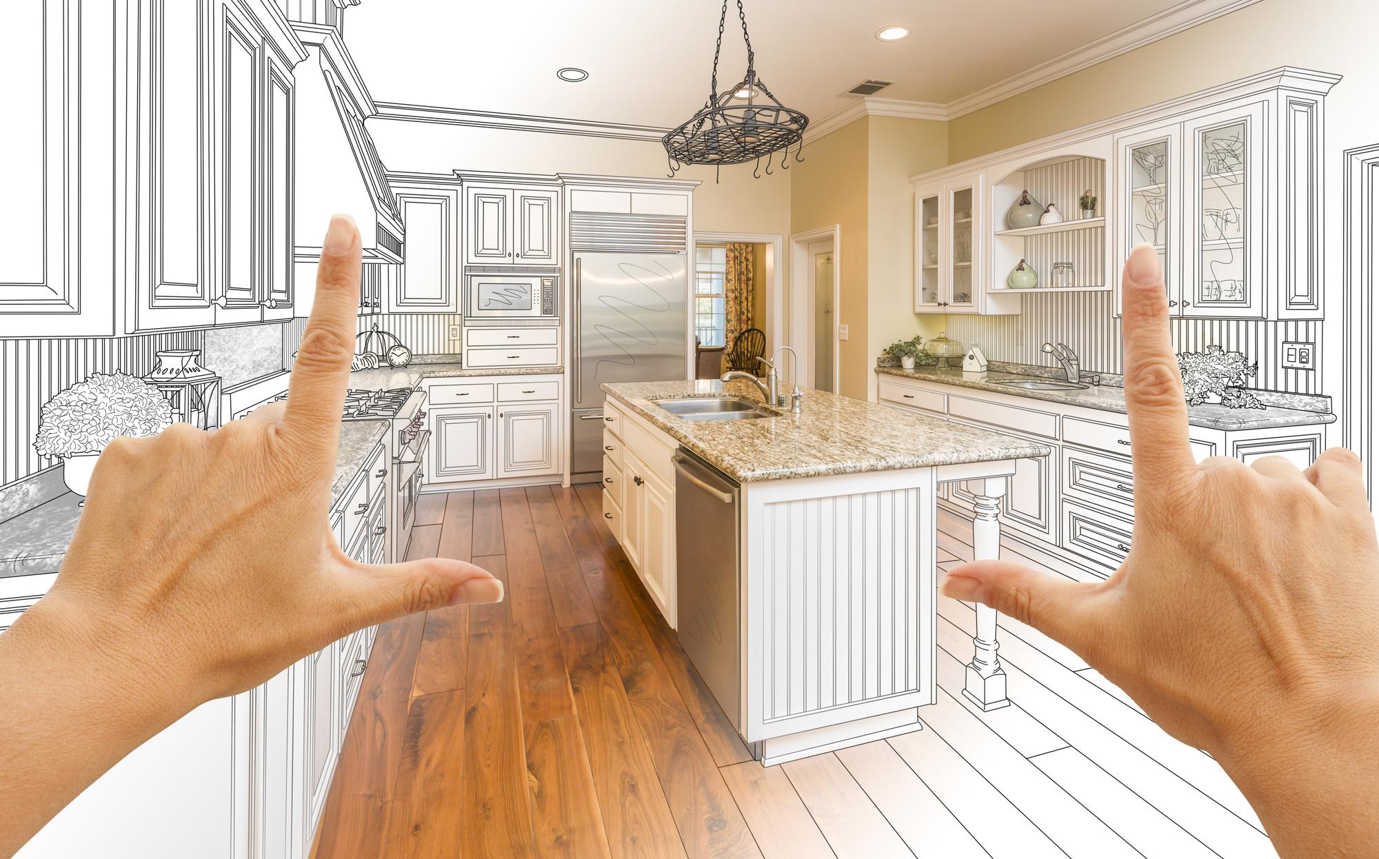 Kitchen Remodeling Concept